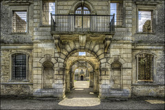 Kirby Hall 4 (Darwinsgift) Tags: kirby hall northamptonshire hdr photomatix english heritage elizabethan stately house home nikkor 19mm f4 pce nikon d810 architecture history
