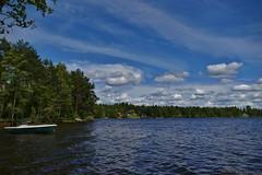 Vid sommarstugan (MIKAEL82KARLSSON) Tags: södrahörken gränges grängesberg dalarna sverige sweden bergslagen sjö vatten water natur panasonic fz300 mikael82karlsson