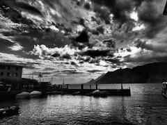 Harbor light, Malcesina, Italy. (isaacullah) Tags: