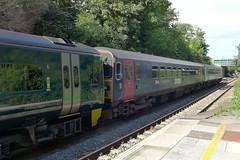 153305 , 153361 and 158766 at Yatton (neiljennings51) Tags: gwr first great western railway train dmu class 153 yatton station