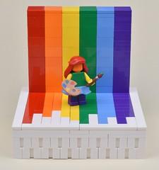 Pride 2017 (MinifigNick) Tags: lego pride minifig afol