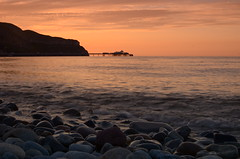 Sunset Llandudno, Wales, UK (Frightened Tree) Tags: sunset llandudno wales north gogledd cymru nikon d7000 35mm seascape