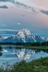 Mount Moran at sunrise