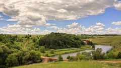 Rural route (Unicorn.mod) Tags: 2017 colors landsape russia rurallandscape river forest bridge sky clouds summer manual manuallens canoneos6d samyang35mmf14asumc samyangmf35mmf14edasumcae myfocus
