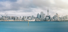 Cloudy Auckland (Yang Ch'ng) Tags: auckland new zealand nz north island city cityscape sky tower water devonport skyline cloudy winter landscape masterpiece