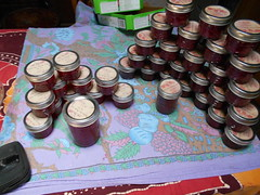 rose petal jam and jelly (Jean&Vic) Tags: rose petal jam jelly pink canned preserved labelled 2017 canning season