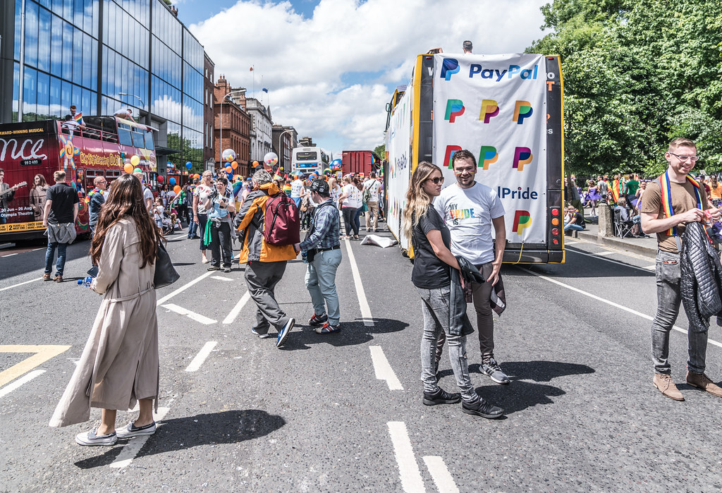 LGBTQ+ PRIDE PARADE 2017 [STEPHENS GREEN BEFORE THE ACTUAL PARADE]-129866