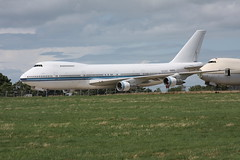 Ex Kuwait Airways Boeing 747-269B 9K-ADD (Retro Jets) Tags: manston b742 kuwait