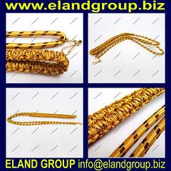 Military Band Gold Lanyard (adeelayub2) Tags: military band gold lanyard