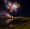 4th of July.... (Kevin Povenz Thanks for the 3,800,000 views) Tags: 2017 july kevinpovenz westmichigan michigan kentcounty kent fireworks reflection 4thofjuly 4th july4th canon7dmarkii sigma1020 night evening eveningsky water golf grass