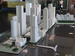 Rotterdam: Wilhelminapier Model (harry_nl) Tags: netherlands nederland 2017 rotterdam wilhelminapier model maquette