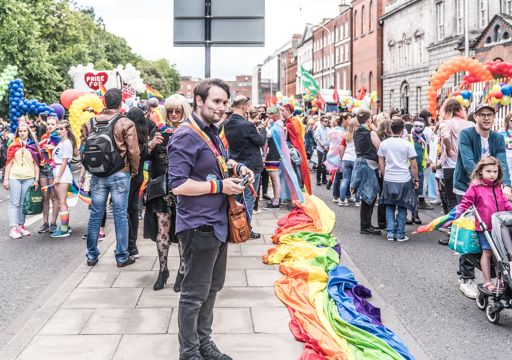 LGBTQ+ PRIDE PARADE 2017 [STEPHENS GREEN BEFORE THE ACTUAL PARADE]-129775