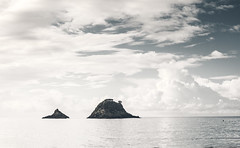 Hahei - New Zealand (Max Pa.) Tags: new zealand newzealand landscape canon 5d 2470mm neuseeland hahei water ocean sea meer clouds wolken landschaft insel island blue
