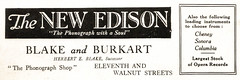 Philadelphia advertisements: (painting in light) Tags: ad advert advertisement philadelphia metropolitan opera 1920 sell selling illustration drawing art caruso academy music singing voice vocal edison phonograph gramophone 78rpm blake burkart
