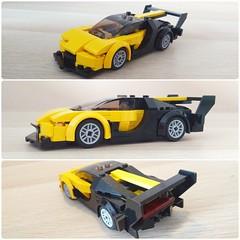 Bugatti Vision Gran Turismo concept car (LEGO_MOCkingJ) Tags: bugatti chiron vision granturismo conceptcar supercar lego moc speedchampions