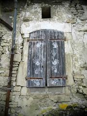 GIVRAUVAL (55) vieilles pierres (dominique jacquier) Tags: volet maison ruine inhabitée pierres
