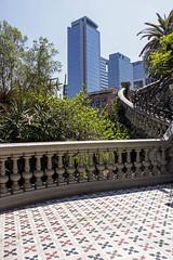 Desde Cerro Santa Lucía (José Luis Orozco) Tags: santiagodechile ciudad city museo bellas artes arquitectura