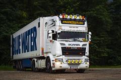 Scania R520 V8 Streamline Topline- Przestrzelski (PL) (Michał Szczerbowski) Tags: scania r520 v8 streamline topline naczepa chłodnia tuning spotkanie przestrzelski express krystian