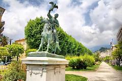 Menton, a royal avenue Boyer. (jackfre 2 (away for 2 weeks)) Tags: france mediterranean city menton gardencity seasidetown resort côtedazur