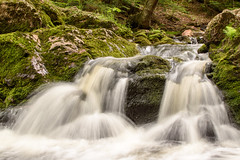 _DSC0527 (phatwhistle) Tags: michigan porcupinemountains waterfall river water rocks nature landscape waterscape flowingwater longexposure green woods tree