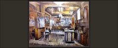 CAFETERIA-PINTURA-ARTE-CAFETERIAS-PINTURAS-INTERIOR-INTERIORES-VITRINAS-BOTELLAS-PERSONAJES-CUADROS-ARTISTA-PINTOR-ERNEST DESCALS- (Ernest Descals) Tags: cafeteria cafeteries cafeterias interior interiores profundidad pintura pinturas decoracion vitrinas botellas muebles ambiente atmosfera personajes luces luz light pintar pintando barcelona catalunya catalonia paint pictures arte artwork pintor pintores pintors cuadro cuadros quadres pintures painter painters painting paintings plastica plasticos artistas artistes plastics ernestdescals decoraciones especiales coffeshop cafe