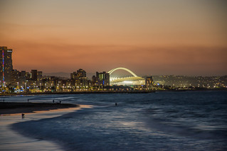 Moses Mabhida Stadium From The Pier, Durban