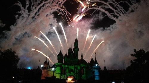 Disneyland fireshow