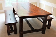 It was a busy week. Delivered this beautiful 7 ft. Farmhouse table with two matching benches to a customer in Atlanta. If you want a customized piece of furniture, visit www.oceanwestdesigns.com. (Ocean West Designs) Tags: farmhousefurniture harvesttable rustictable diningroomdecor farmhousetable woodtable customwoodwork farmtable kitchentable decoratingideas finewoodworking wooddesign diningtable farmhousedecor woodworker customfurniture woodcraft craftsmanship rusticdecor carpenter farmhousestyle designing hgtv diningroom smallbusiness furnituredesign woodworking furniture atlantainteriors atlantadesigner