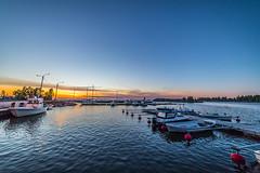 Klobbskat port (Arttu Uusitalo) Tags: replot raippaluoto ostrobothnia finland klobbskat fishing port kvarken sea seaside summer night landscape dusk sunset twilight boat