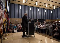 Sanders in Silver Spring (Blinkofanaye) Tags: naacp president benjealous education berniesanders endorse maryland governor silverspring tuition free singlepayer health insurance