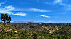 un cielo feliz (aliciap.clausell) Tags: paisaje landscape españa andalucia granada sky cielo azul blue aliciapclausell
