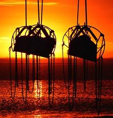 Cleethorpes (Peanut1371) Tags: cleethorpes swing sunrise beach