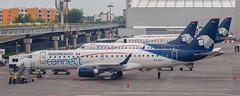 Aeromexico E-Jets (MEX) (ruimc77) Tags: nikon d700 nikkor 105mm f25 ais aeromexico connect embraer ejet e190 emb190 emb erj erj190 lr mmmx mex aicm mexico city international airport aeropuerto internacional ciudad méxico xaacj