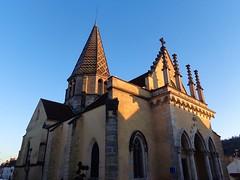 Plombières-lès-Dijon / Église Saint-Baudèle (Charles.Louis) Tags: bourgogne côtedor église clocher bâtiment religion patrimoine histoire tuile vernissé toit toiture polychrome couleur multicolore dessin architecture
