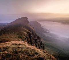 Mardy Face (ajecaldwell11) Tags: sunrise ankh cliffs tematapeak clouds tukitukiriver hawkesbay newzealand tukituki cloud mist rocks sky fog water caldwell dawn light