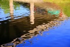 under the bridge (HansHolt) Tags: bridge brug water reflection reflectie weerspiegeling waterscape hoogeveensevaart canal kanaal graffiti nijstad hoogeveen drenthe netherlands dof bokeh abstract canon 6d canoneos6d canonef24105mmf4lisusm