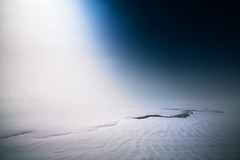 Fall of Light (Fosforonero) Tags: lake campotosto abruzzo light fog snow ice moon moonlight winter hike nationalpark alone wanderer medittation frozen silence cool walk explore natgeo italy sony stars cold night nightshoot nightphotography