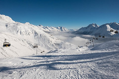 Low lying clouds at Galzig (A. Wee) Tags: austria 奥地利 滑雪 ski arlberg galzig stanton