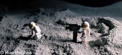 IMG_5304 (Hue Hughes) Tags: lego space spacemission moon moonlanding lunar astronaut unikitty benny superman alien mech spaceman rover lunarrover craters moondust toys macro fun cute apollo