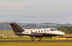 G-FXCR Nexant 400, Edinburgh (wwshack) Tags: bizjet businessjet corporatejet edi egph edinburgh edinburghairport executivejet nexant400 scotland turnhouse gfxcr