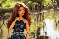 Summer River (astramaore) Tags: dollphotography made move yoga barbie summer smile fun happy nature water