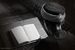 The mosque (K.BERKİN) Tags: mosque child ıslam istanbul turkey takumar goldenhorn dark blackwhite human people city sonyalpha sony6300 eminonu photo alpha balat mirroless book read reading