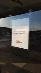Closed RadioShack (dankeck) Tags: radioshack athens hockingcounty sign window outofbusiness shutdown vacant