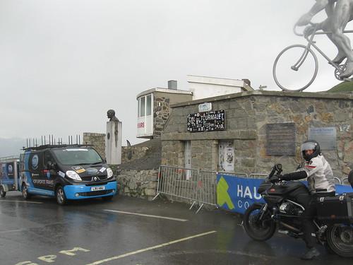 2017-06 Picos en Pyreneeën Guus op de col du Tourmalet