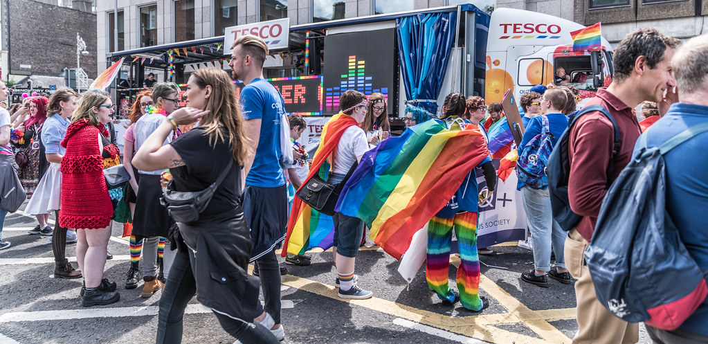 LGBTQ+ PRIDE PARADE 2017 [STEPHENS GREEN BEFORE THE ACTUAL PARADE]-129865