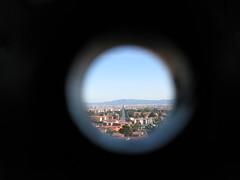 Point of view (VauGio) Tags: corso francia torino turin cannocchiale castello di rivoli telescope panorama canon powershot concorsofnac