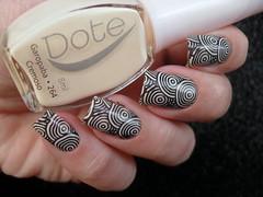 Dote - Garopaba + JQ-L05 (Barbara Nichols (Babi)) Tags: dote garopaba areia jql05 carimbo carimbada nails nailart