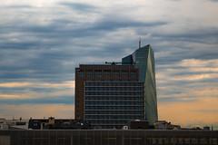EZB / ECB (lilamuhkuh) Tags: ecb ezb frankfurt bank hessen eos dslr canon hochhaus turm tower