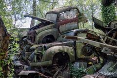 SP-3 (StussyExplores) Tags: austria scrapyard vintage cars teeth rust decay abandoned left behind vehicles explore exploration urebx