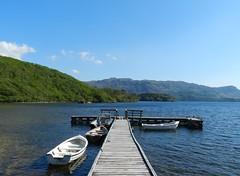 Loch Morar, Lochaber, May 2017 (allanmaciver) Tags: loch morar lochaber highlands scotland pier boats wee small shades blue quiet warm sunny perfection idyllic allanmaciver